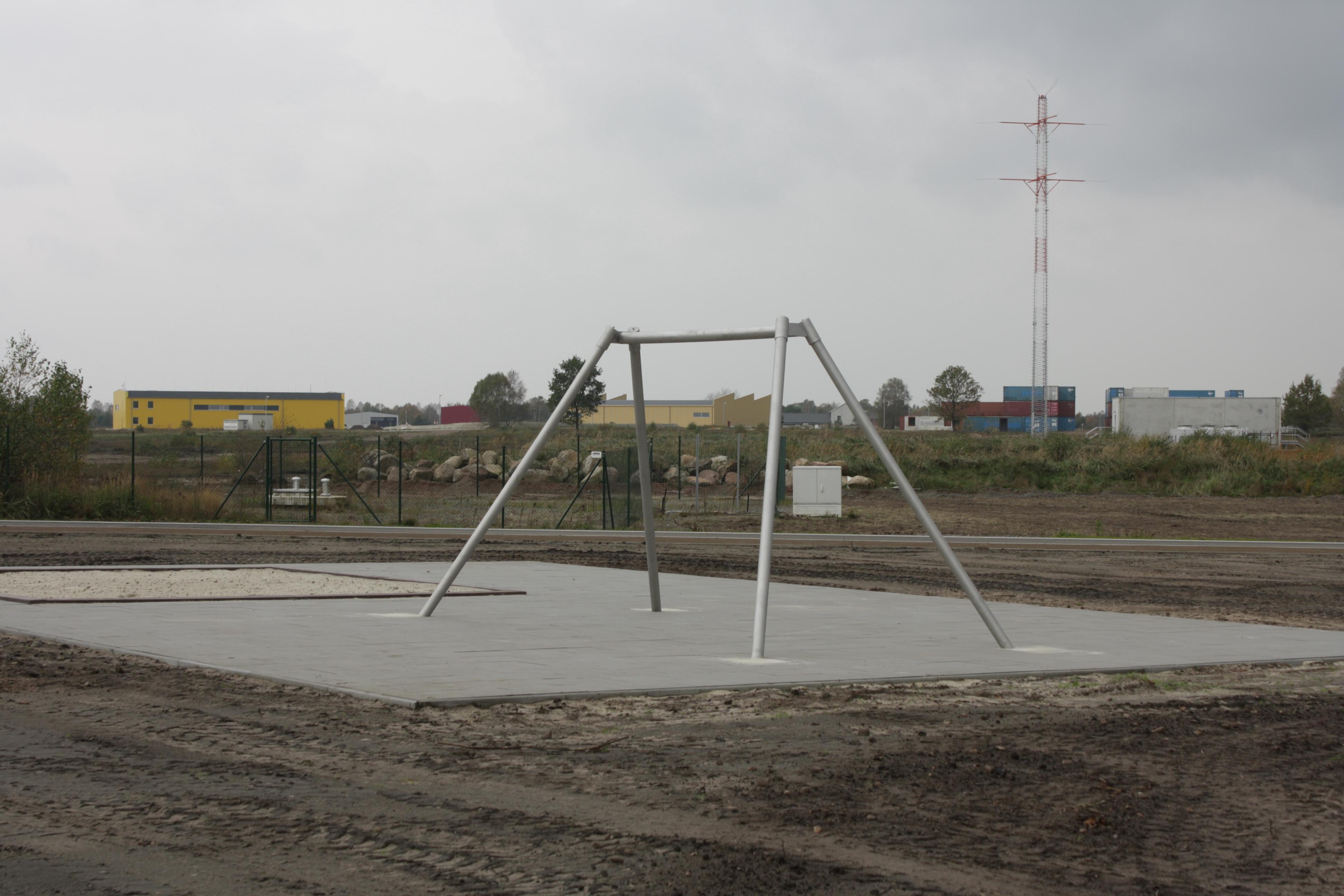 A playground.