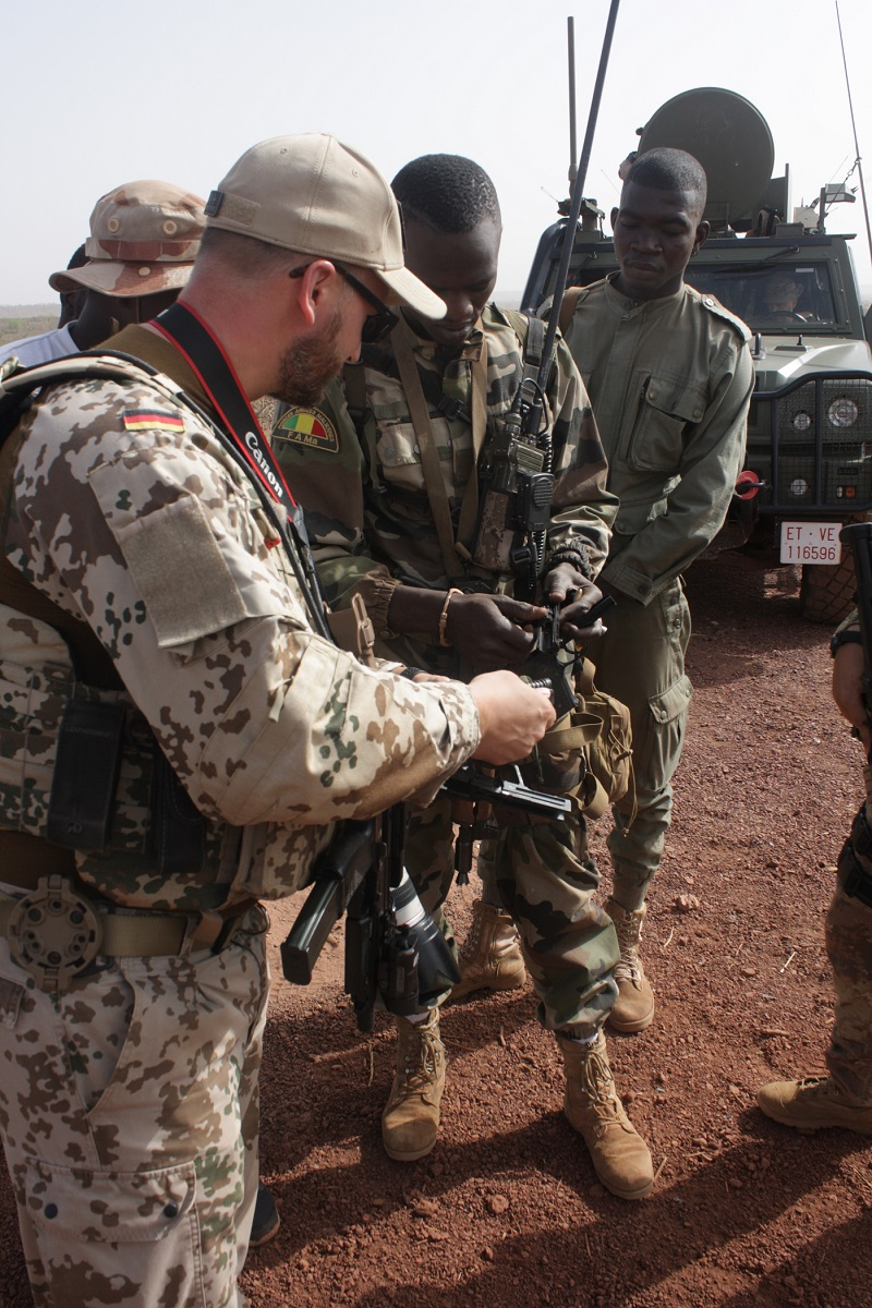 EUTM training of Malis armed forces