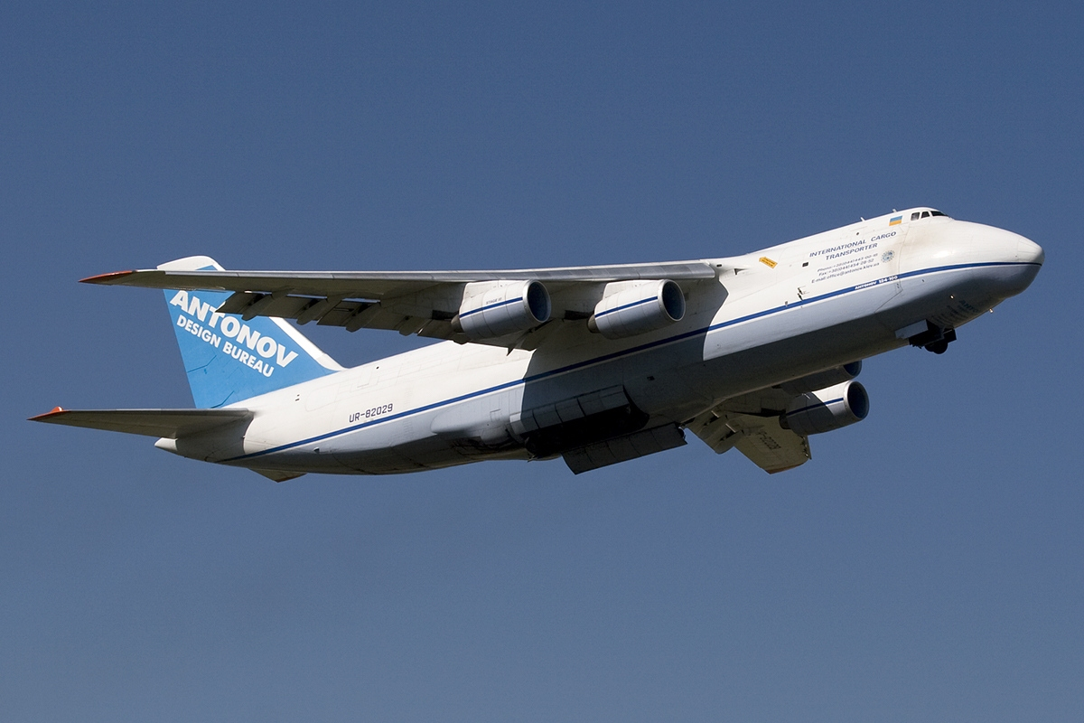 AN-124 from the Ukrainian carrier Antonov - photo: Peter Bakema / Wikipedia / CC licence