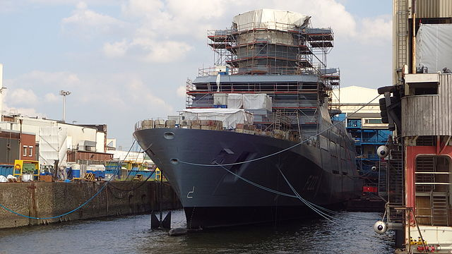 """Die """"Baden-Württemberg"""" - Typschiff der F125 Fregatten-Klasse"""