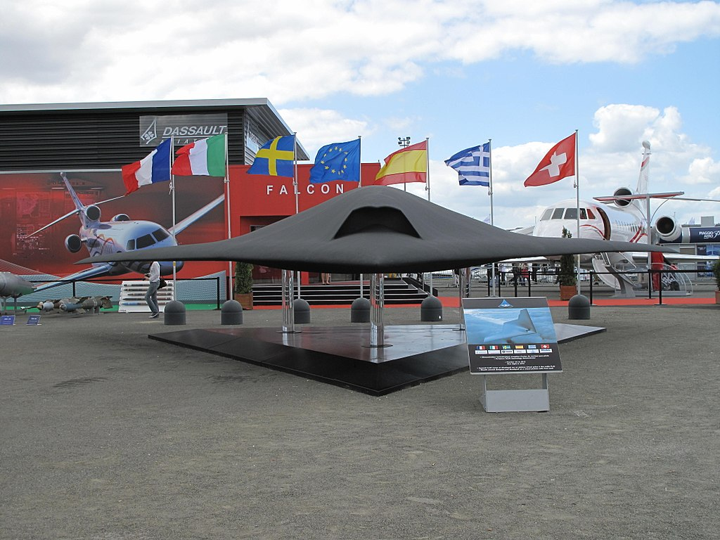 Dassaults NEURON drone - part of the Anglo-French FCAS project